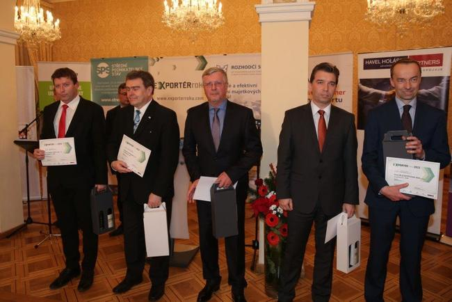 Broumovská VEBA nejlepším exportérem roku 2015 v Královéhradeckém kraji