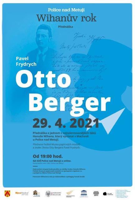 Otto Berger - nejtalentovanější žák Hanuše Wihana