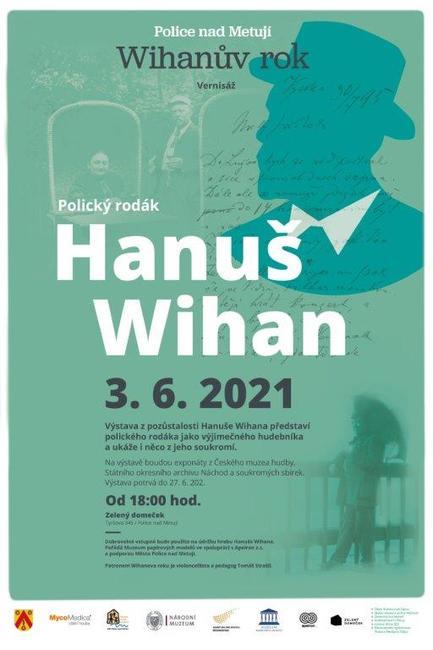 Projekt Wihanův rok vrcholí červnovou výstavou