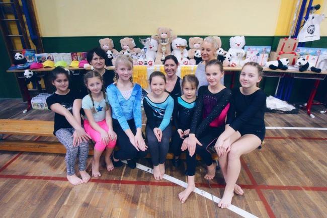 Úspěchy broumovských gymnastek