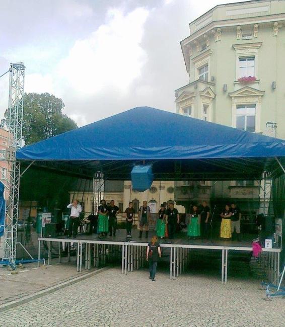 Na náměstí v Nowe Rudě se konaly Polsko-české zábavy s kávou