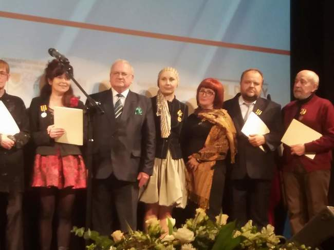 Při zahájení polsko-českého kulturního roku ve Świdnici byli oceněni Helena Pavlenko Ogriščenková a Rudolf Vogel