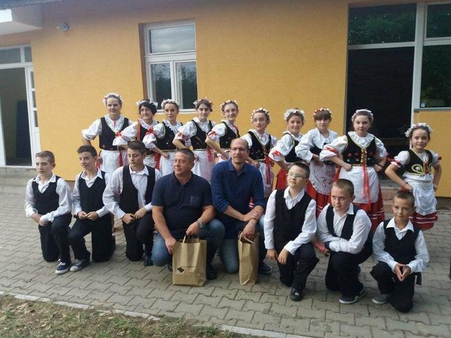 Hejtman Jiří Štěpán a radní Pavel Hečko jsou na návštěvě v srbském Banátu