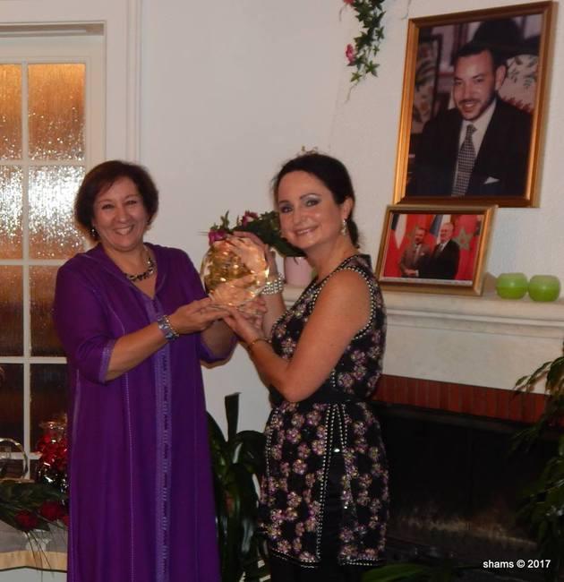 Dana Minaříková převzala cenu Marockého království