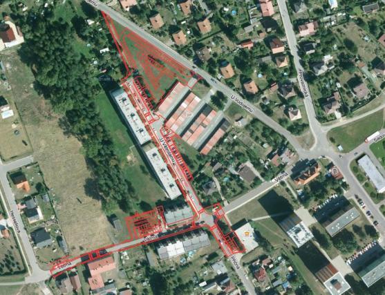 Nová parkovací místa a oprava komunikace na sídlišti U Větrolamu
