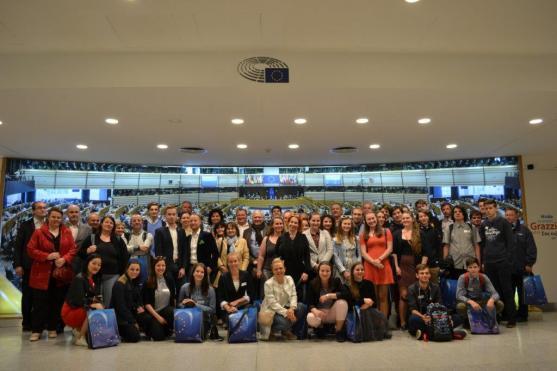 Mladí katolíci z broumovské a teplické farnosti navštívili Brusel