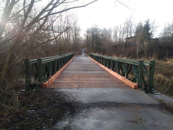 """Město dokončilo opravu mostu """"Pod Hobrou"""""""