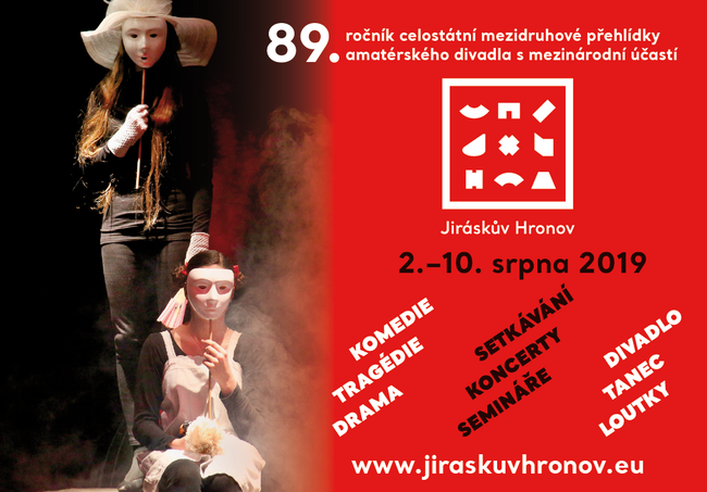 Blíží se nejstarší divadelní festival, 89. Jiráskův Hronov