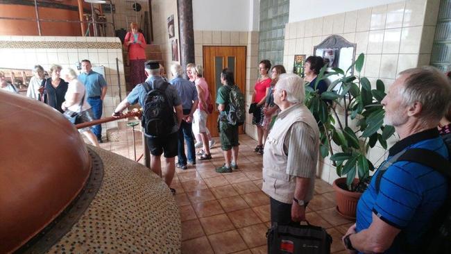 Zástupci Města Broumov připravili pro kolegy z Nowe Rudy teambuildingové setkání po stopách klenotů regionu