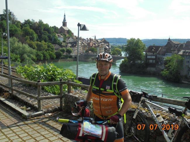 Vláďa Grusman z Šonova absolvoval extrémní cyklistický non-stop ultra maraton Bike Trans Germany 2019