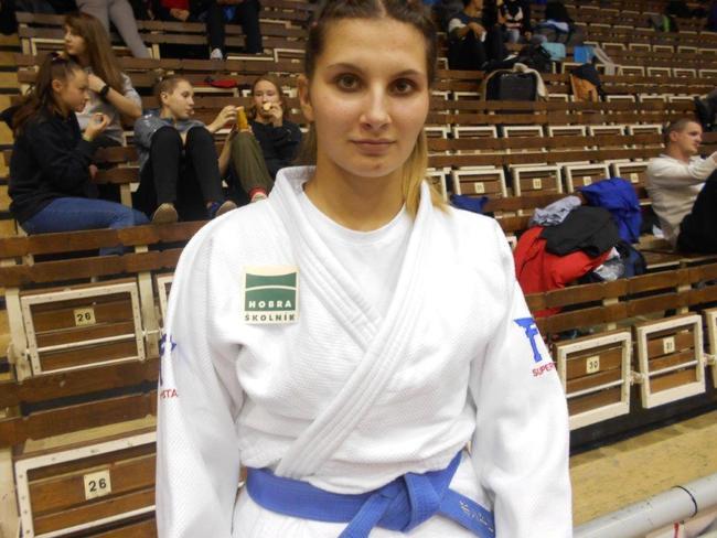 Judistka Vondřejcová bronzová na mistrovství republiky