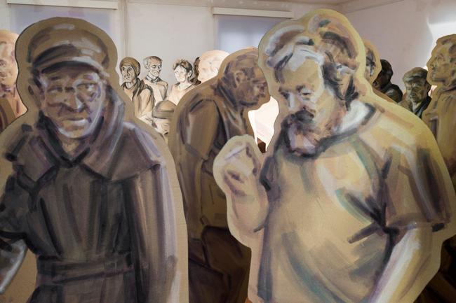 """Výstava Františka Nováka """"Betlém"""" otevře dveře do světa bezdomovectví"""