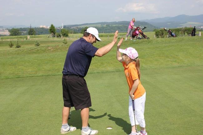 Golf je zábava pro celou rodinu