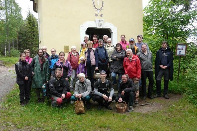Otevírání lesa na Broumovsku aneb první osvětová akce v roce 2020 pro houbaře a mykology