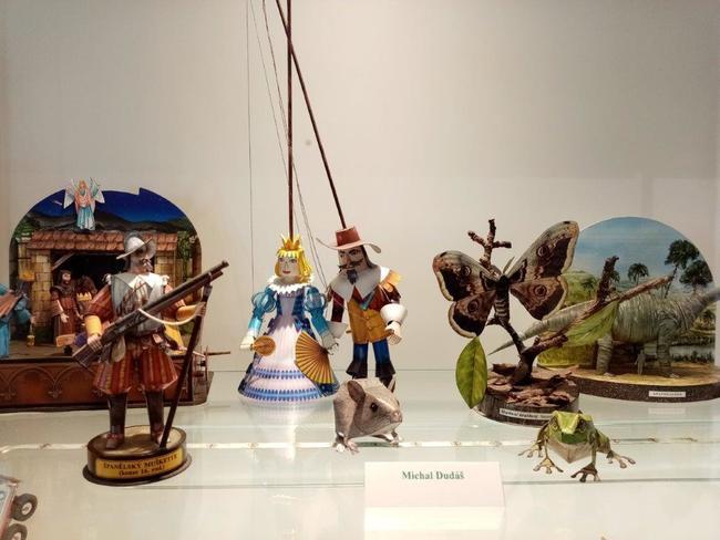 Expozice časopisu ABC v Muzeu papírových modelů a zvýhodněné vstupné během Polické pouti