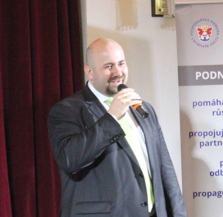 Radek Jakubský byl zvolen viceprezidentem Hospodářské komory ČR