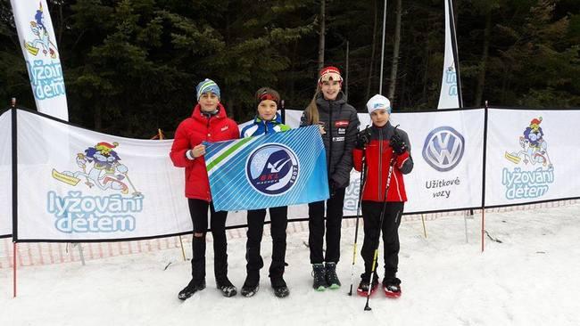 Machovští lyžaři opět úspěšní. Tentokrát v Jablonci nad Nisou