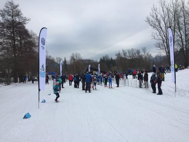 Do Machova přijelo závodit na lyžích 150 běžkařů. Také dva z Kanady