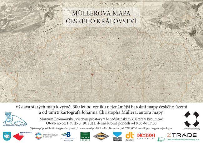 Začne výstava starých map k výročí 300 let od vzniku nejznámější barokní mapy českého území