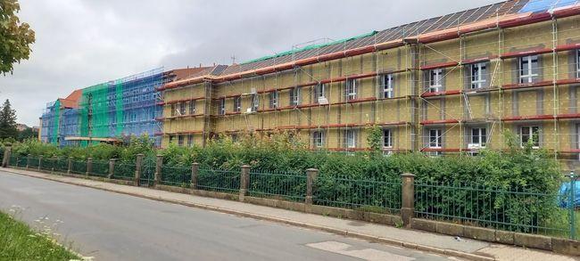 V broumovské nemocnici probíhají dvě stavební zakázky