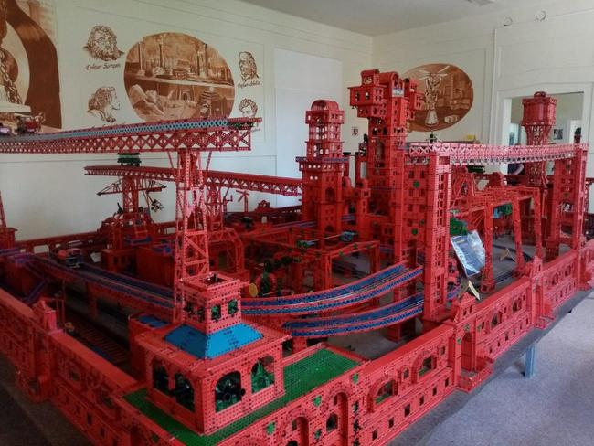 Nová expozice Muzea stavebnice Merkur