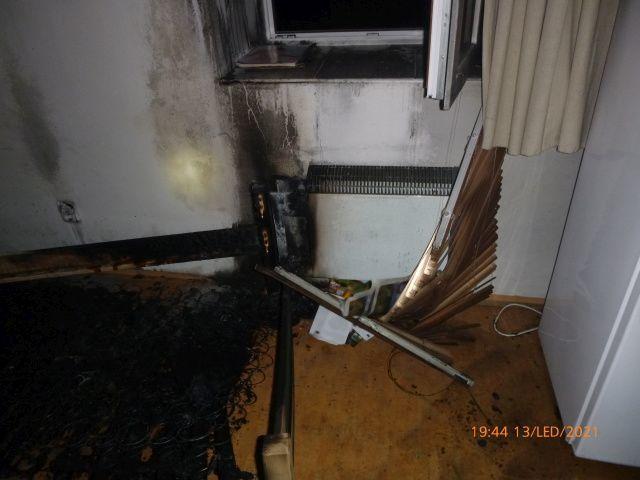 Vadný přímotop málem způsobil požár