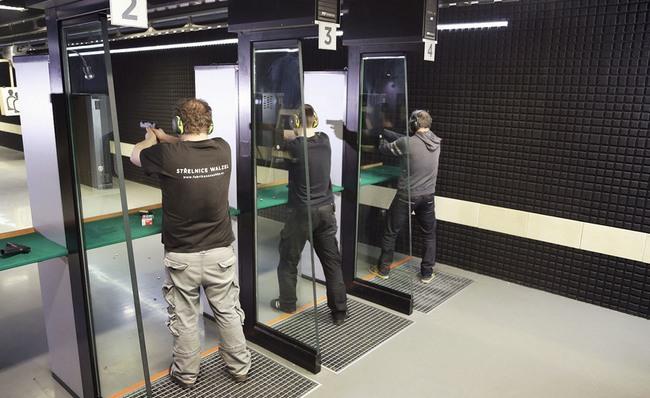 Střelnice v Centru Walzel zve na přípravný kurz k získání zbrojního průkazu