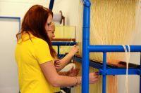Učební obor Výrobce textilií, to je nejlepší cesta, jak získat práci v a. s. VEBA
