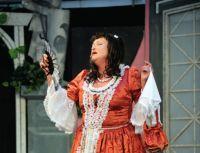Ozdobou posledního představení osmého Malého letního divadlení byla Valerie Zawadská