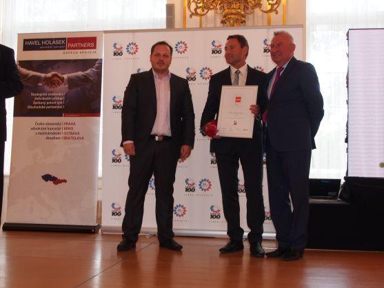 VEBA získala ocenění CZECH STABILITY AWARD a stala se tak nejstabilnější firmou ČR za rok 2013