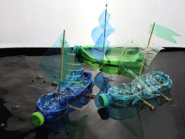 Děti poletí s větrem v plachtách na výtvarném workshopu s Veronikou Richterovou