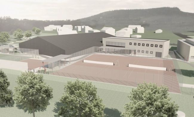 Nový sportovní a relaxační areál v Bukovici