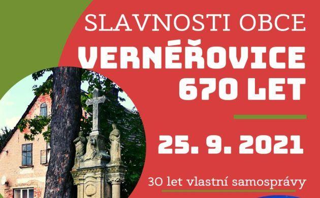 Vernéřovice si připomenou letošní jubilea