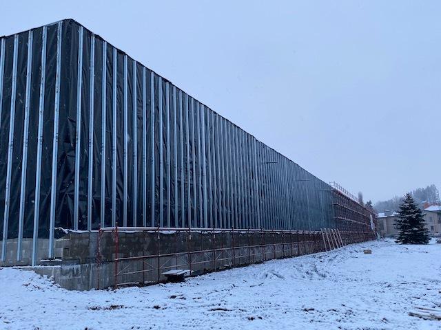 """Petr Hauk: """"Motiv fasády nové haly je inspirovaný místní krajinou."""""""