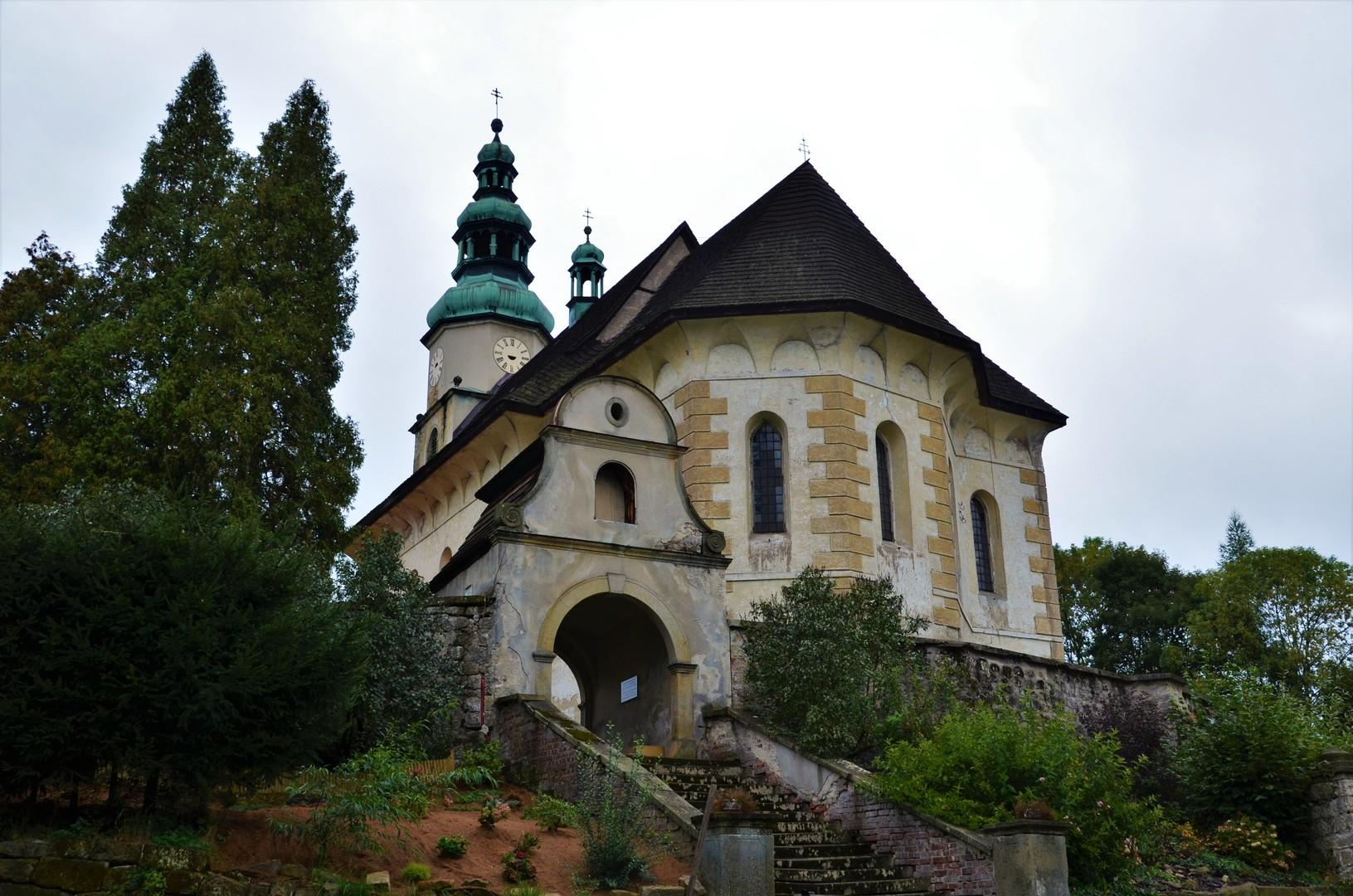 Kostel Nejsvětější Trojice, Zdoňov