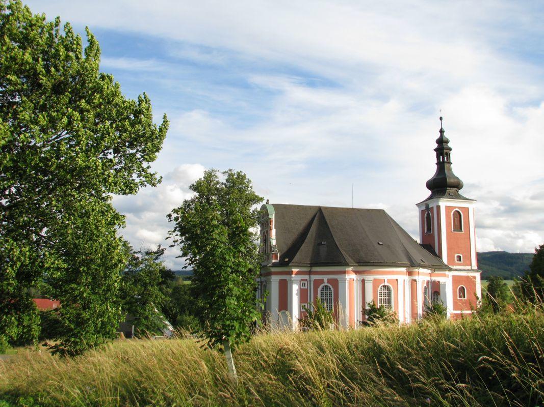 Kostel sv. Máří Magdalény, Božanov